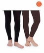 1521 Fleece Lined Footless Tights