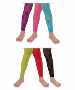 1532 Dotty Footless Tights