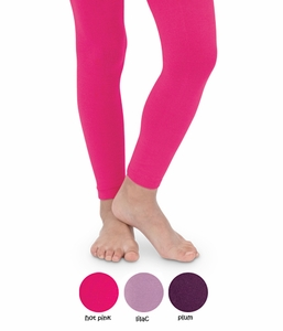 Microfiber Footless Tights Fashion Colors
