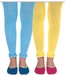 1558 Pima Cotton Ruffle Footless Tights - Sale Colors