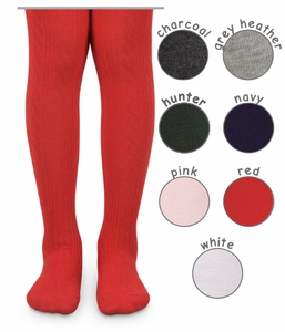 Girls Cable Tights