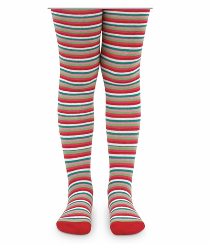 1562 Holiday Stripe Tights