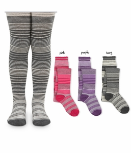 1564 Stripe Tights