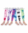 1566 Lace Tie Dye Footless Tights