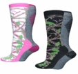 2783 Carolina Ultimate Ladies Camo Wool Blend 2 Pair Pack