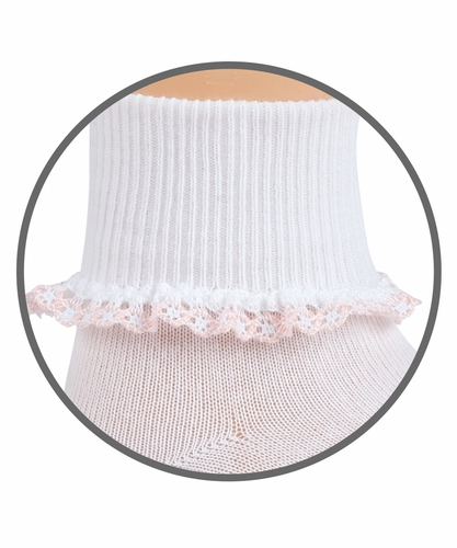 Baby Girl : Dainty Lace Socks