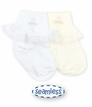 Baby Girl : Cotton Christening II Socks