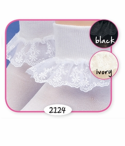 Baby Girl: Snow Queen: Fancy Sheer Lace