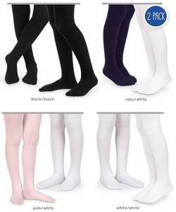 21445 Smooth Microfiber Tights 2 Pair Pack