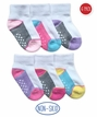 2343 Color Block Half Cushion Quarter 6 Pair Pack