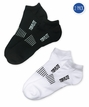 2347 Top Flite Sport Low Cut Socks with Cushioned Heel/Toe 2 Pair Pack