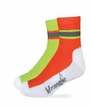 24920 Wrangler High-Vis Work Quarter Sock 2 Pair Pack