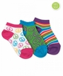 Girls : Triple Treat Hip Chick Socks