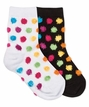 2742 Fuzzy Dot Sock