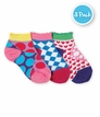2749 Geo Low Cut Socks 3 Pair Pack