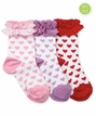 2755 Ruffle Hearts Triple Treat 3 Pair Pack