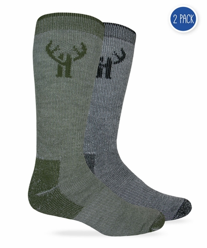 2815 Huntworth Wool Blend Boot Sock 2 Pair Pack