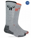 2868 Huntworth Full Cushion Wool Blend Boot Sock 2 Pair Pack