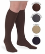 Womens : Argyle Microfiber Knee High
