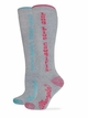 29616 Wrangler Ladies Long Live Cowgirl Boot Sock 2 Pair Pack