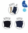 Kids Seamless Casual Crew 3 Pack Socks