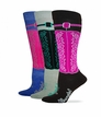 32610 Wrangler Ladies Wild West Boot Sock 3 Pair Pack