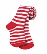 4819 Red/White Stripe Tights