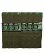 5202 Top Flite Olive Pattern Crew Dress Sock Assorted 6 Pair Pack