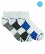 532 Top Flite Sport Performance Half Cushion Quarter Socks 3 Pair Pack