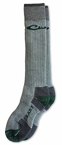 72054 Drake Mens Merino Wool Blend Heavyweight Cold Weather Boot Socks