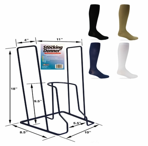 88002-12 Extra Large Easi-Don Stocking Donner with 12 pc Stocking set