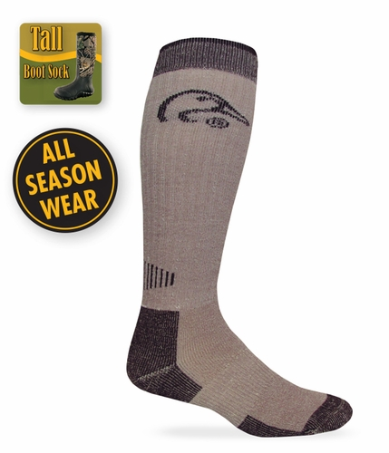 9996 Ducks Unlimited All Season Tall Merino Wool Boot Sock