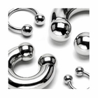316L Surgical Steel Horseshoe Ring