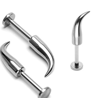 Curved Spike Labret  (OUT OF STOCK)