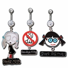 David & Goliath Licensed Belly Button Ring