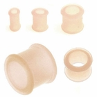 Flexible See-Thru Silicone Plug Earring / Retainer