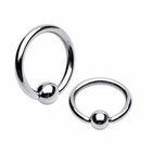 G23 Solid Titanium Ball Closure Ring / BCR / CBR