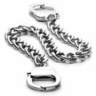 Handcuff Stainless Steel Chain Bracelet (OUT OF STOCK)