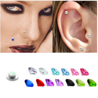 Magnetic Fake Nose Ear Monroe Stud