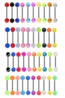 Mix & Match UV Tongue Ring Barbell