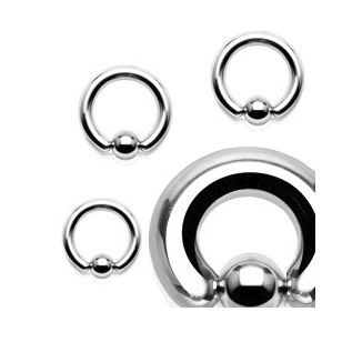 Premium 316LVM Captive Ring (Ball Closure Ring)