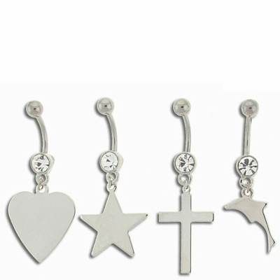 Star, Heart, Cross and Dolphin