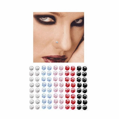 Stick-On Anywhere - Nose, Monroe, Ear, etc. (Pack of 16)