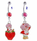 Strawberry Shortcake Belly Button Ring
