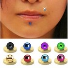Titanium Magnetic Fake Labret - Ball