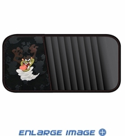10 CD/DVD Car Visor Organizer - Warner Bros. - Taz - Attitude