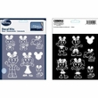 Decal Sticker Kit - Car Truck SUV - 14pc - Disney - Mickey Mouse - Ears Family