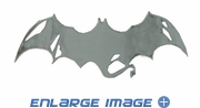 3D Chrome Emblem - Car Truck SUV - Bat Wings