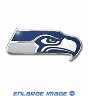 3D Color Emblem - Seattle Seahawks