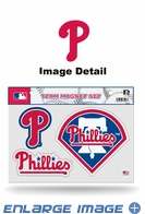 3PC Magnet Set - Office Home Car Fridge - Philadelphia Phillies